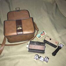Vintage KODAK Hawkeye Instamatic Camera BELL & HOWELL Autoload with Case Bag