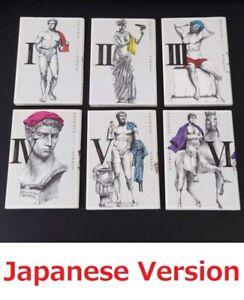 THERMAE ROMAE VOL.1-6 Comics Complete Set Japan Comic F/S
