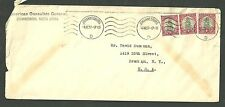 1937 American Consulate General Cover Johannesburg South Africa To Brooklyn n.y.