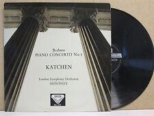 SXL 2172 ED1 WBG STEREO UK- Brahms Piano Concerto No.1 JULIUS KATCHEN Monteux LP