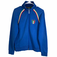 Hugo Boss Full Zip Track Jacket Medium Blue Red Green White Cotton 11 Soccer