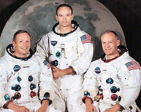 Apollo 11 Crew 8 x 10 Photo Picture Neil Armstrong Michael Collins Buzz Aldrin