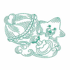 1067:  Machine Embroidery Designs - Especially for Baby IV - Redwork