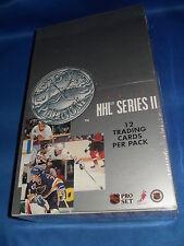 1991-92 PRO SET HOCKEY - SERIES II HOBBY BOX (36) NHL TRADING CARD PACKS * LQQK