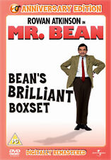 MR BEAN COMPLETE LIVE COLLECTION DVD Box Set Volume 1 2 3 4 Rowan Atkinson New