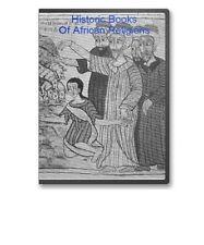 20 Antique Rare Books African Religion Mythology South Africa Bantu More CD B53