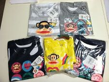 NWT 5 Paul Frank Girls clothes; size Medium; 4 Tanktops and 1 T-shirt