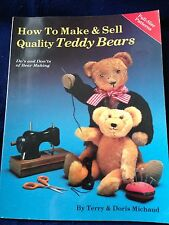 Hobby House How to Make and Sell Teddy Bears Book PATTERNS &  REFERENCE BOOK