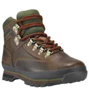 """TIMBERLAND 6"""" Women's Leather Euro Hiker Boot Brown TB095310"""
