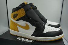 Air Jordan 1 Retro High OG 6 Rings Yellow Ochre Best In Hand 555088-109 sz 15