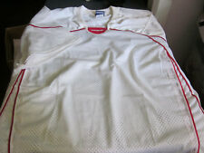 New Brine Mens Lacrosse Jerswy White/Red Xl X-Large
