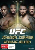 UFC #187 - Johnson Vs Cormier (DVD, 2015, 2-Disc Set) Region 4