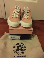Converse One Star OX x GOLF LE FLEUR TYLER THE CREATOR wang Peach Deadstock 6