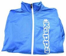 KAPPA Boys Tracksuit Top Jacket 13-14 Years Blue Polyester  LL10