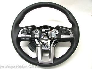 15 16 Subaru Legacy Steering Wheel Volume Phone Switches Paddle Shiftin Assy OEM