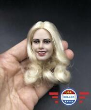 1/6 scale Head Sculpt Harley Quinn Margot Robbie for 12'' Female Figure Doll