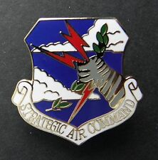 Strategic Air Command Sac Usaf Air Force Lapel Hat Pin 1.1 inches
