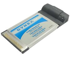 Dynex Dx-E202 10/100 Mbps Ethernet Card Bus Network Card Pcmcia for Laptop