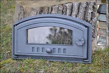 48 x 27cm Cast iron fire door clay / bread oven / pizza stove smoke house DZL08
