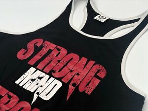 body building stringer vest, muscle, strength, power, strong mind