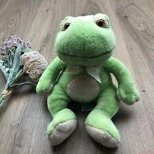 Russ Baby Plush Frog Paddles 30cm Tall EUC Green