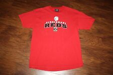 Vintage Majestic Cincinnati Reds 5 World Series Cooperstown Collection T Shirt M