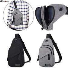 Men Sling Bag Chest Bag Shoulder Pack Sports Travel Backpack Cross Body Handbag