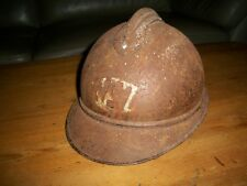 coque de casque défense  passive adrian gaz 1914 1918 FRANCE  ww1