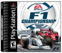 F1 Championship Season 2000 - PlayStation 1