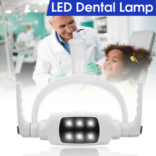 6 LED Dental Teeth Lamp Oral Light Induction Unit Chair Tool 12V 6000K with  US