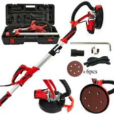 4ft Swivel Electric 5 Speed Drywall Sander 6pcs Sand Paper With Led Light Case