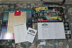 NBA JAM SESSION - THE BASKETBALL BOARD GAME 1992 COMPLETE
