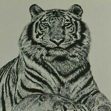 Melody Atkinson Art Print Animal Vintage Tiger