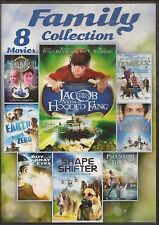 Family Collection - 8 Movies (2-disc set),EARTH ZERO,SHAPE SHIFTER,DUMB LUCK,NEW