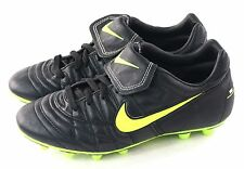 Nike Rare Air Rio Zoom 2 FG Soccer Cleat Black & Neon Yellow Size 7 US
