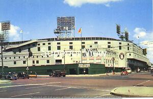 Briggs Stadium Detroit MI Color Photo Home of the Detroit Tigers Briggs Stadium