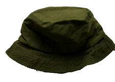 Mens BARBOUR Waxed Wax Bucket Hat Cap Green Size XL