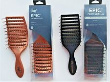 WET BRUSH / EPIC PROFESSIONAL QUICK DRY BRUSH BLACK or ROSE GOLD  --  FREE SHIP