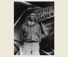 1927 Charles Lindbergh PHOTO Spirit of St Louis Pose,Aviator,Wright Brothers Pal