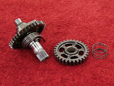 COMPLETE KICK START SHAFT 04-08 CRF450 CRF450R <> OEM kickstarter spindle w/gear