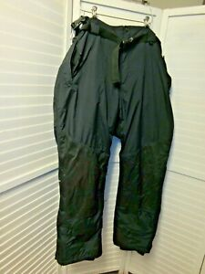 Cabela's Gore Tex Thinsulate Outerwear Bibs Overalls Black Mens 2XL