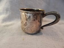 Vintage Antique Sterling Silver Juice Cup NEP 40 g Baby Cup