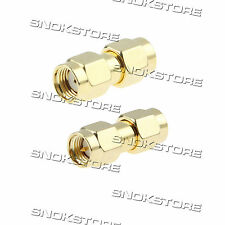 ADATTATORE CONNETTORE SMA MALE TO RP-SMA MALE PLUG ADAPTER CONNECTOR COAXIAL RF