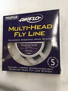 AIRFLO MULTI HEAD ST7S7 SUPER FAST SINK SHOOTING HEAD STANDARD FLY LINE