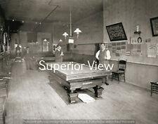 Old Time Pool Hall Billiard Tables Vintage Pool Tables Derbys Woodstove  CLASSIC