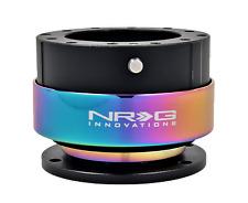 NRG Quick Release gen 2.0 (corps NOIR avec Neochrome ring) SRK-200BK-MC