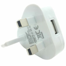 Genuine BlackBerry UK 3 Pin Mains Charger Adaptor Plug For all Blackberry Phones