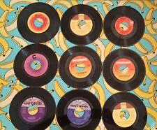 USA Jukebox 7 Inch Single Vintage Vinyl  Set Of 9