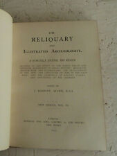 Vintage Buch 1898 die Reliquie Illustrierte Archäologe Vol IV Antiquitäten