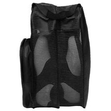 Black Deluxe Shoe Tote Travel Bag w/ Mesh Panels & Handle by ProActive Sports